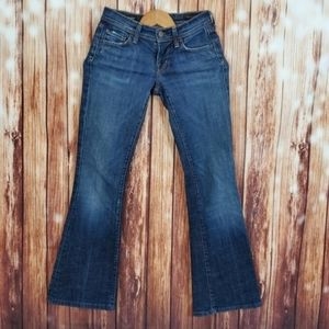 Citizen Of Humanity Jeans 24 Low Waist Flare